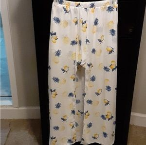 Long Skirt with Shorts Attached